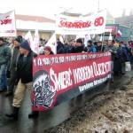Szczecin: Manifestacja w obronie Pomorza Zachodniego