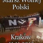 Marsz Wolnej Polski w Krakowie – 11.11.2013