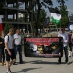 Białystok: Solidarni z walczącą Palestyną