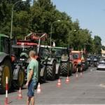 Białystok: Działacze NOP wsparli protest rolników
