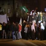 Zabrze: Starcia z policją w obronie górników