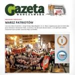 """""""Gazeta Wrocławska"""": Marsz Patriotów to wizytówka Wrocławia"""
