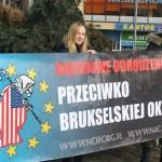 Szczecin: Nacjonaliści przeciwko UE