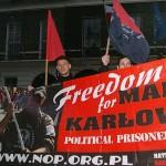 Londyn: Freedom for Marcin Karłowicz!