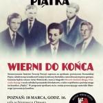 "Spotkanie pt. ""Poznańska Piątka – wierni do końca"""