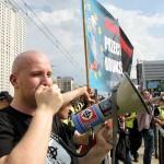 Warszawa: Nacjonaliści kontra Marsz Niewolników