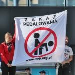 Warszawa: Antypedalska kontra nacjonalistów
